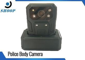 Build - In GPS Law Enforcement Body Camera , Police Body Cameras With 140 Degree Angle